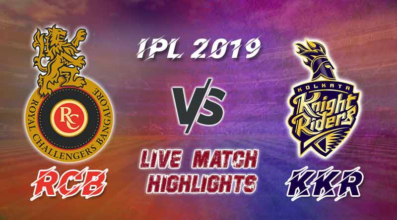 today ipl match live updates rcb v kkr