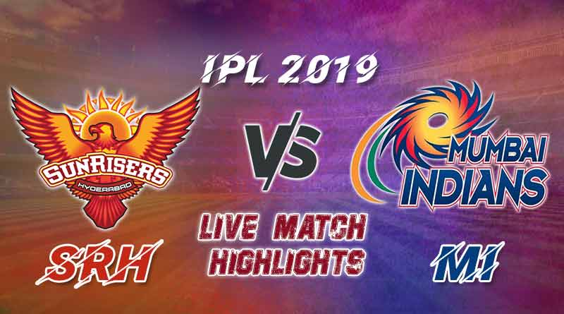 today ipl match live updates srh v mi