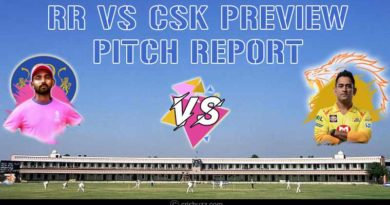 Today IPL match RR Vs CSK Preview