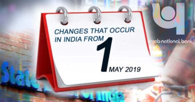 Changes and news rules from 1 May 2019
