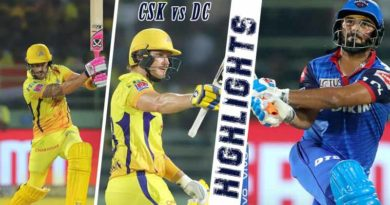 CSK vs DC match highlights