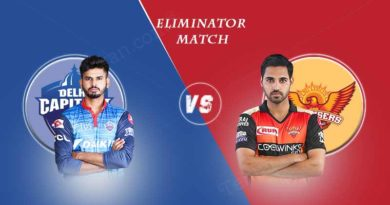 IPL 2019 SRH Vs DC eliminator match