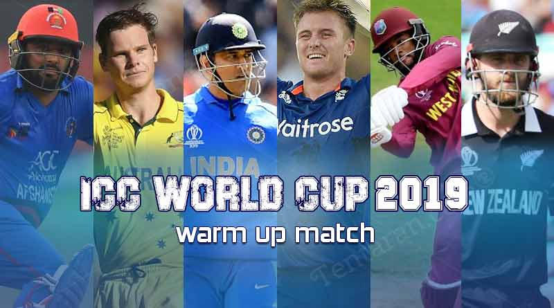 ICC World Cup 2019 warm up match