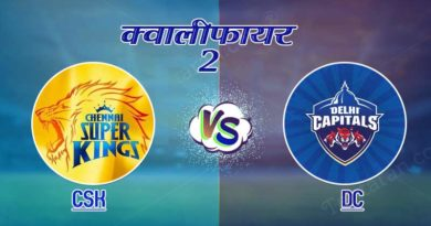CSK vs DC IPL 2019 Qualifier 2