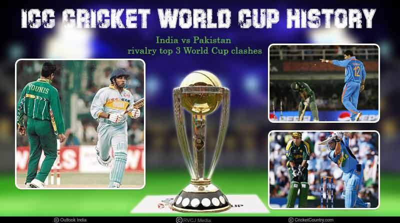 Top 3 India vs Pakistan World Cup clashes
