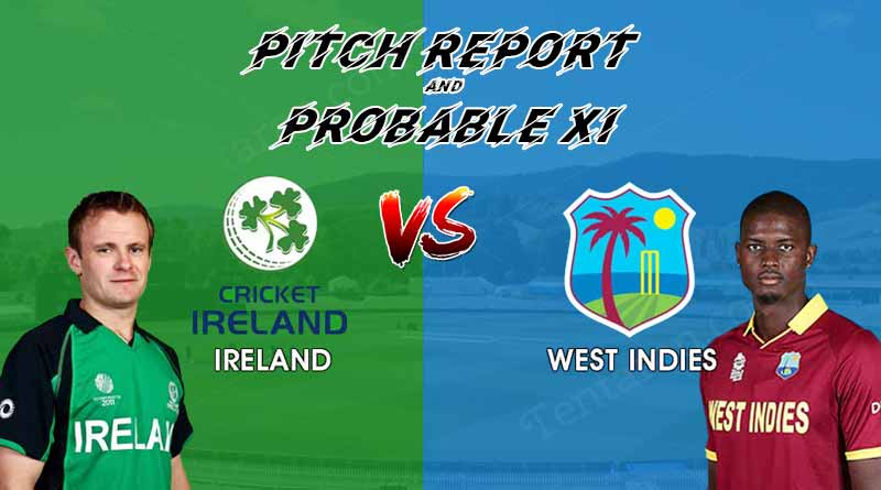 Ireland vs West Indies Pitch Report