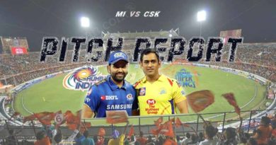 MI Vs CSK IPL Final Pitch Report