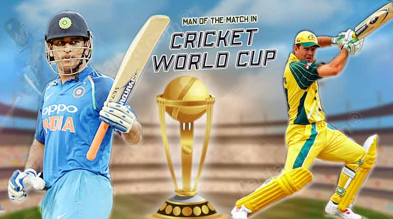 Man of the Match in cricket world cup finals