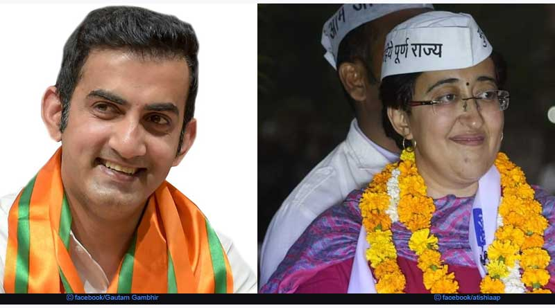 Who is contesting against whom from Delhi Constituency