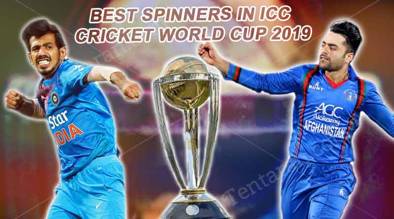 Best Spinners in ICC Cricket World Cup 2019
