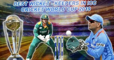 Best Wicket Keepers in World Cup 2019