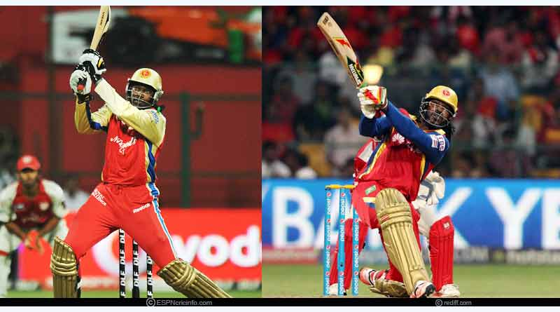 Chris Gayle - Royal Challengers Bangalore