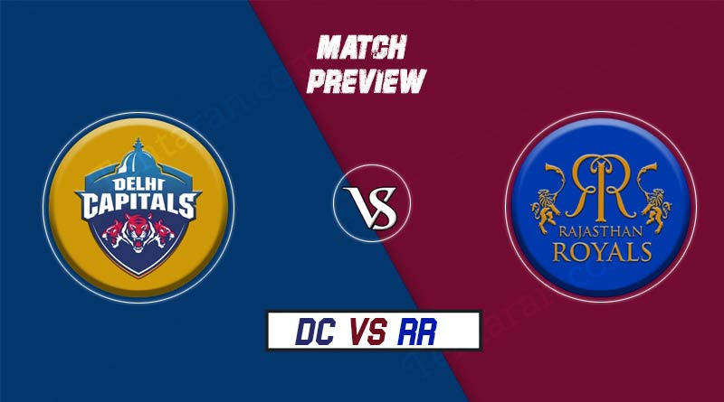 DC vs RR 53rd Match
