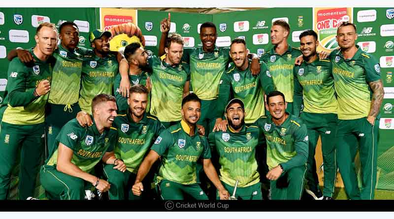 icc cwc 2019 south africa team