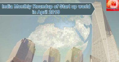 India monthly roundup of Start-up world in April