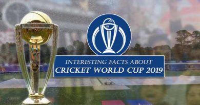 Interesting facts about cricket world cup 2019