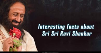 Interesting facts about Sri Sri Ravi Shankar