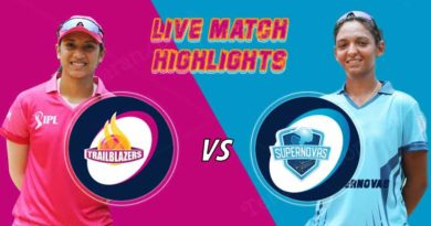 today women ipl match live updates supernovas v trailblazers