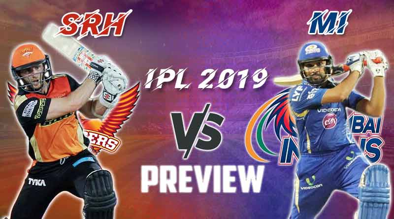 MI vs SRH 51st Match