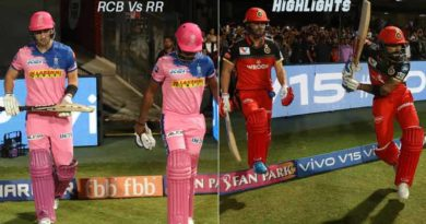 RCB vs RR match highlights