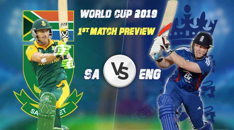 world cup 2019 england vs south africa 1st match