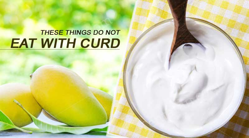 These things do not eat with curd