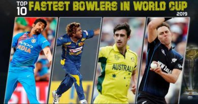 Top 10 Fastest Bowlers in World Cup 2019