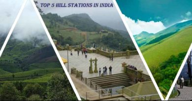 top 5 hill stations in India