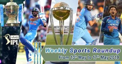 Sports weekly roundup