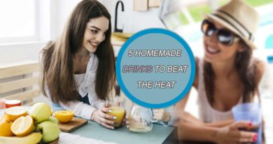 5 homemade drinks to beat the heat