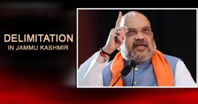 The Government may be contemplating Delimitation in Jammu Kashmir