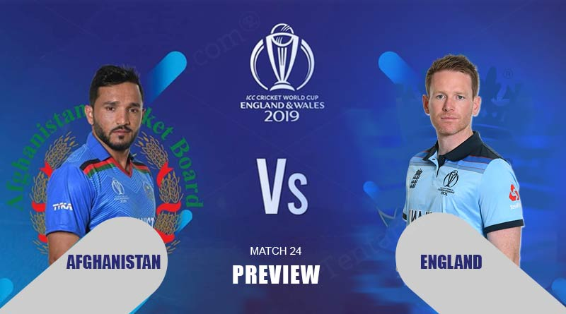 England vs Afghanistan Preview Prediction
