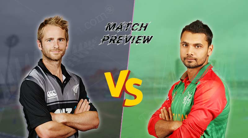 Bangladesh vs New Zealand Match Preview