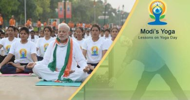 Modi's Yoga Lessons on Yoga Day