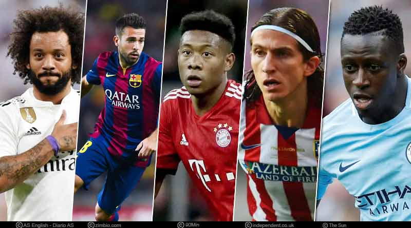 Top 5 Left Backs in the World