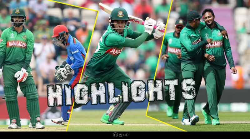 bangladesh vs afghanistan match highlights