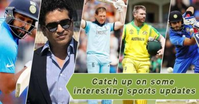 Catch up on some interesting sports updates
