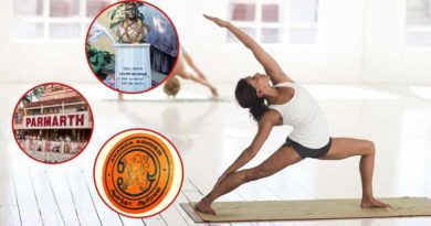 Famous yoga institutions in India