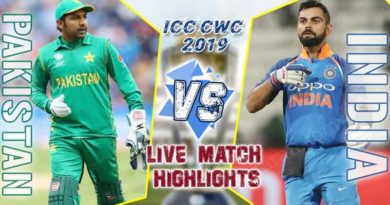 india vs pakistan 22nd match live score