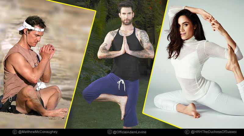 international celebrities who swear by yoga