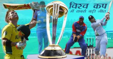 largest victory by runs in world cup