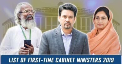 list of first-time cabinet ministers 2019