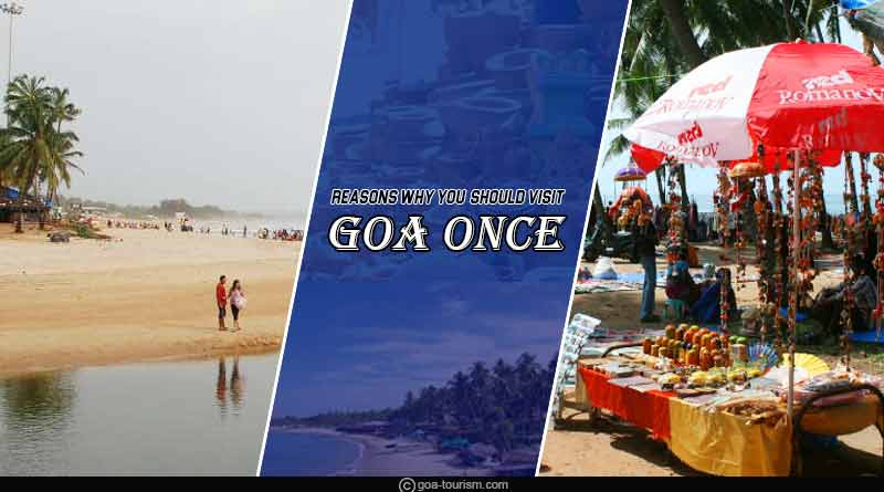 reasons why you should visit goa once