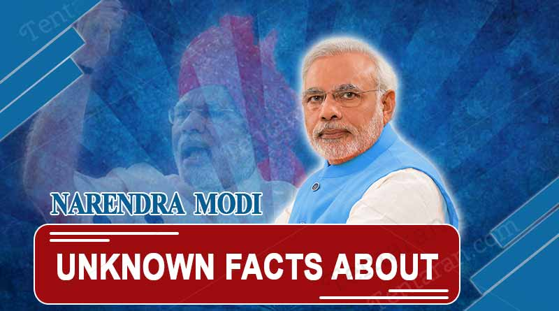 Unknown facts about Narendra Modi