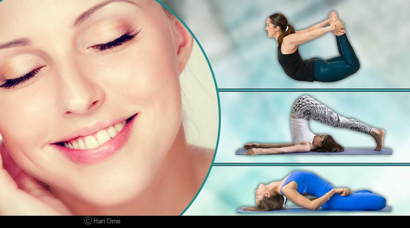 yoga for glowing and healthy skin