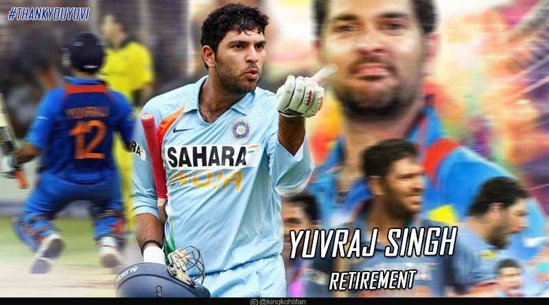 yuvraj singh announced retirement from international cricket