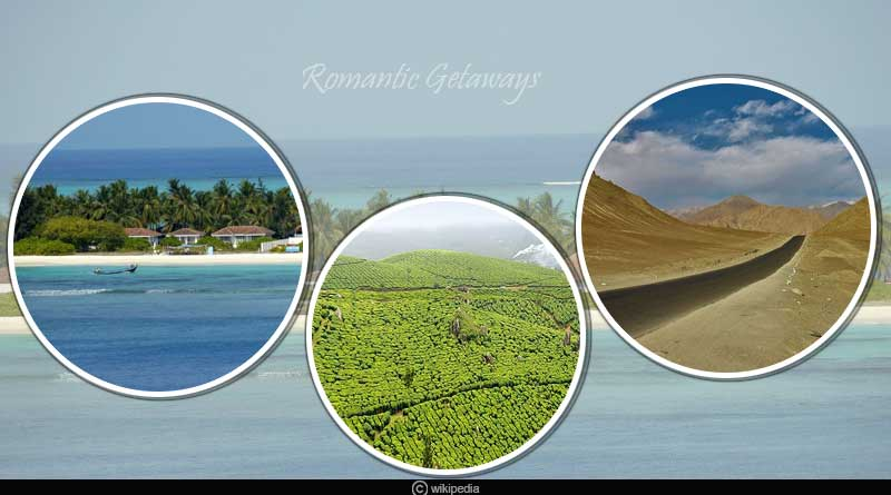 Best romantic getaways in India during summers