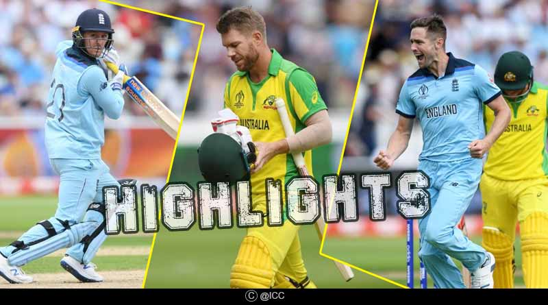 England Vs Australia 2nd Semi Final Match Highlights