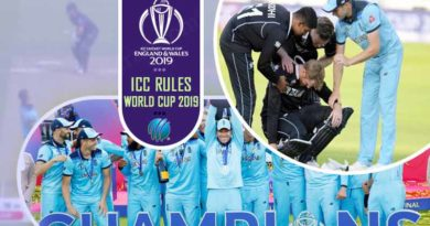 ICC Rules World Cup 2019