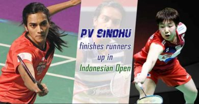 PV Sindhu Indonesian Open